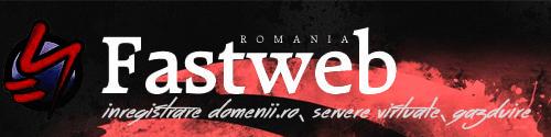 Fastweb Romania - gazduire web, servere dedicate si vps, inregistrare domenii